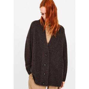 NWT Zara 100% Cashmere Cardigan